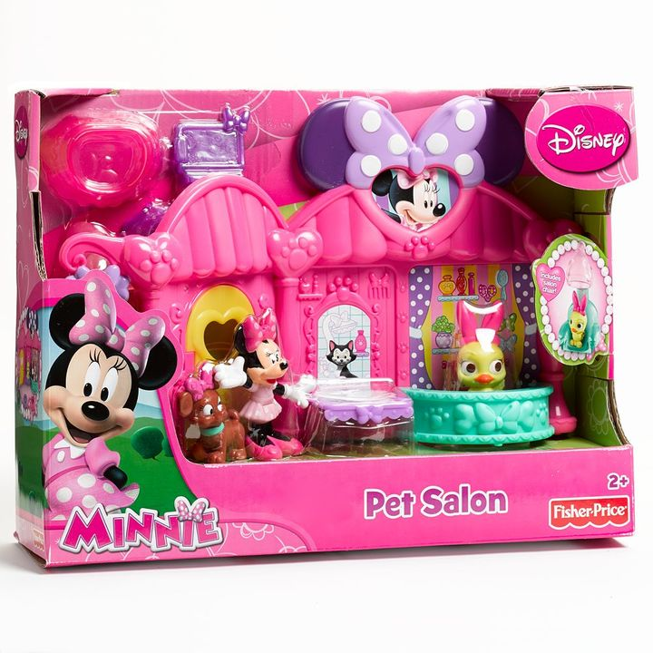 Fisher-Price Disney Mickey Mouse & Friends Minnie Pet Salon