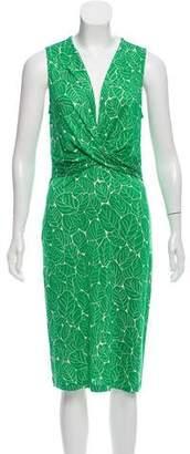 Diane von Furstenberg Catana Silk Dress
