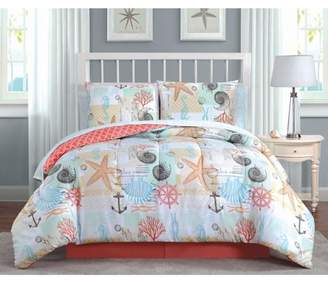 Generic Avondale Manor Belize 8pc Bed in a Bag Set - King - Coral