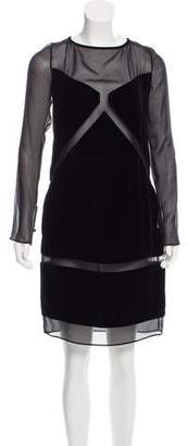 Emilio Pucci Knee-Length Velvet Dress w/ Tags