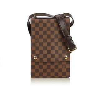 Louis Vuitton Vintage Damier Ebene Portobello Crossbody