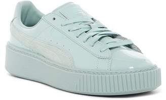 4961a6d17d19 Puma Basket Platform Patent Leather Sneaker
