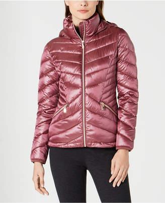 Calvin Klein Chevron Packable Down Puffer Coat