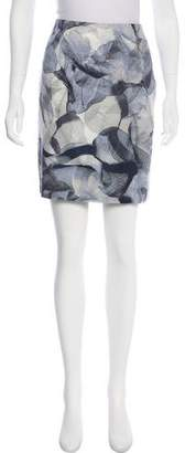 HUGO BOSS Boss by Abstract Print Skirt