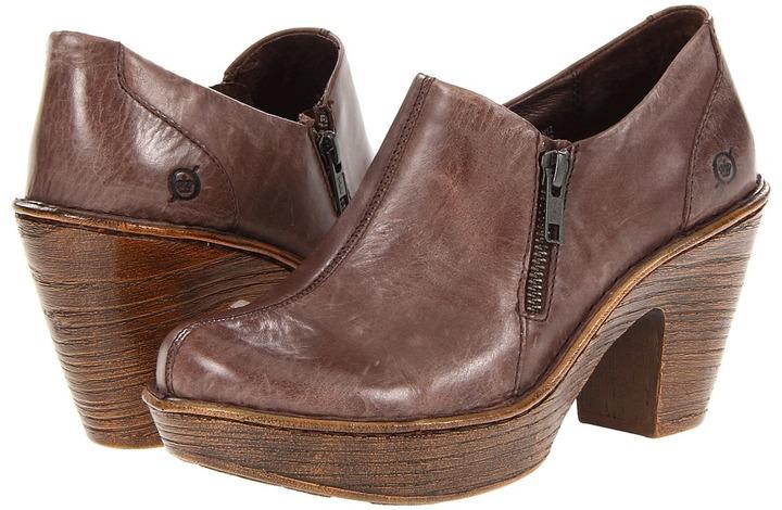 Børn Famke (Dark Brown Leather) - Footwear