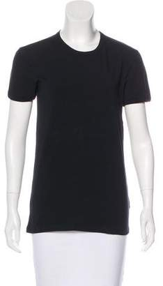 Versace Short Sleeve Crew Neck Top