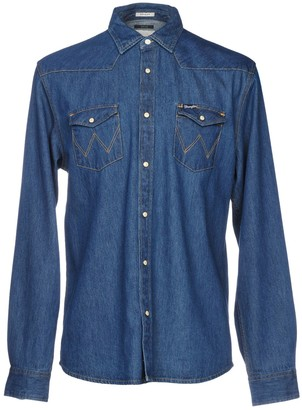 Wrangler Denim shirts - Item 42673138AL