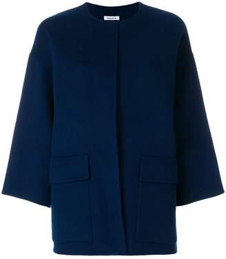 P.A.R.O.S.H. collarless boxy jacket