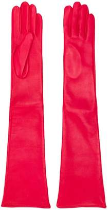Manokhi long fitted gloves