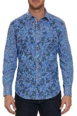 Robert Graham Hutchinson Long Sleeve Cotton Sport Shirt