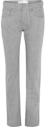 Victoria Beckham Victoria, Hakone High-rise Straight-leg Jeans - Light gray