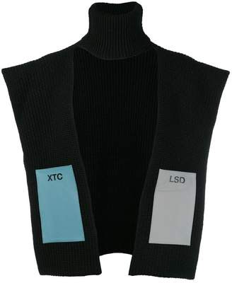Raf Simons single panel turtleneck pullover
