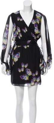 Erin Fetherston ERIN by Printed Silk Dress