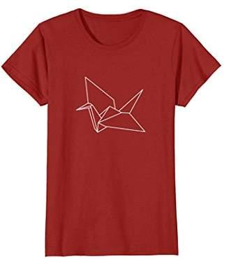 Paper Crane Origami T-Shirt