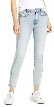 Current/Elliott The Seven Pocket High Waist Ankle Skinny Jeans