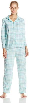Karen Neuburger Women's Minky Fleece Holiday Novelty Pajama