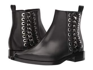 Alexander McQueen Braided Chain Ankle Boot Women's Dress Boots