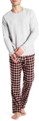 UGG Steiner Plaid Print 2-Piece Pajama Gift Set