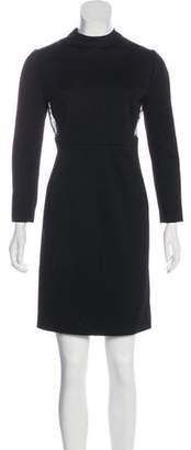 Gucci Knee-Length Long-Sleeve Dress
