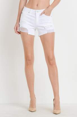 Just USA Mid-Rise Destroyed Short