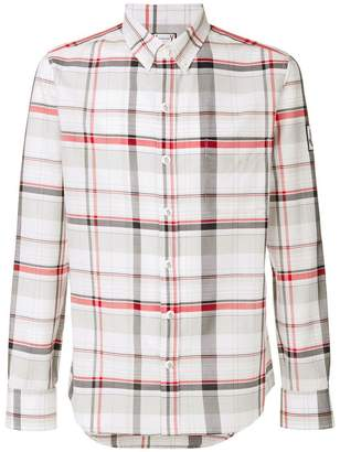 Moncler plaid fitted shirt