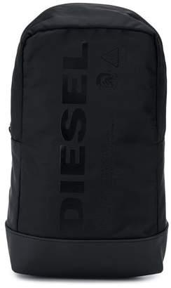 Diesel (ディーゼル) - Diesel ロゴプリント バックパック