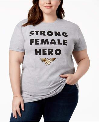 Hybrid Plus Size Wonder Woman T-Shirt