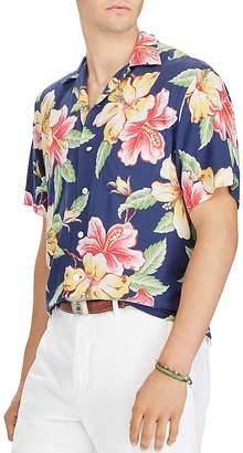 Polo Ralph Lauren Tropical Classic Fit Short Sleeve Camp Shirt