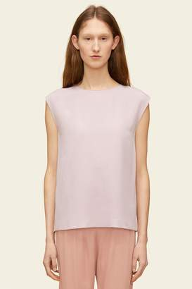 Mansur Gavriel Silk Sleeveless Blouse