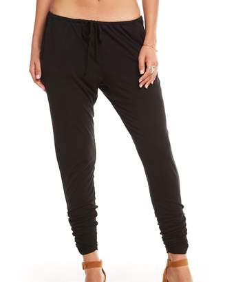 Chaser Cool Jersey Drawstring Waist Ruched Skinny Pant