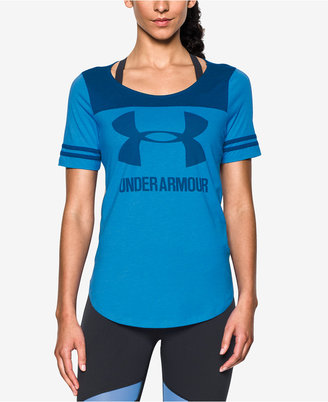 Under Armour Colorblocked Jersey T-Shirt $34.99 thestylecure.com
