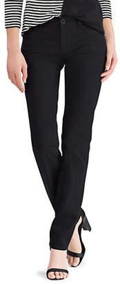 Chaps Petite Mid-Rise Slim Pants