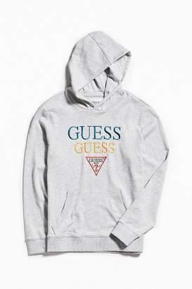 GUESS Embroidered Hoodie Sweatshirt