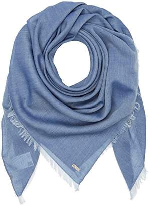 BOSS ORANGE Women's Nafame Scarf, Blue (Dark Blue), (Manufacturer size: STCK)