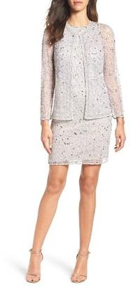 Women's Pisarro Nights Embellished Dress & Jacket $218 thestylecure.com
