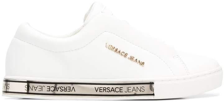 Versace Jeans logo sneakers