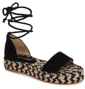 Women's Splendid Eliza Platform Ankle Wrap Espadrille $107.95 thestylecure.com