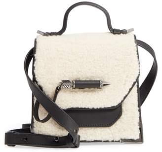Mackage Mini Rubie Genuine Shearling Crossbody Bag