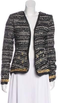 Rachel Zoe Embellished Tweed Jacket w/ Tags