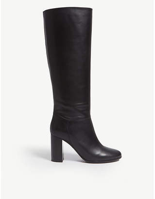Maje Leather high boots