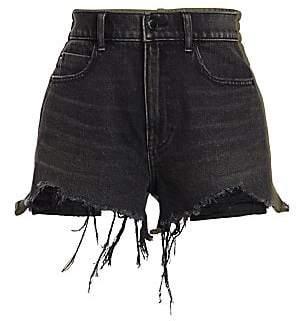 Alexander Wang Women's Sweatpant & Denim Combo Shorts
