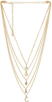 Ettika Layered Charm Necklace