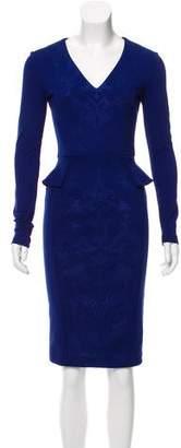 Stella McCartney Matelassé Knee-Length Dress