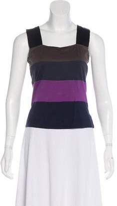 Akris Punto Colorblock Sleeveless Top