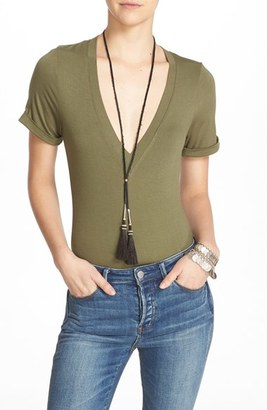 Women's Free People 'Me Oh My' Bodysuit $48 thestylecure.com