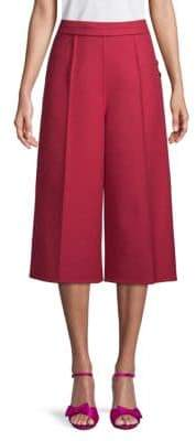 Valentino High-Rise Cropped Culottes