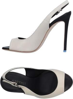Grey Mer Sandals