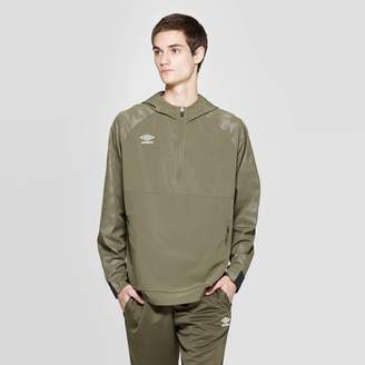 Umbro Men's Woven Training Quarter Zip Jacket