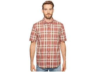 Timberland Plotline Short Sleeve Plaid Work Shirt