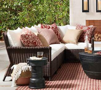 Pottery Barn Patio Square Arm Armless/LA/RA Sectional Cushion Slipcovers
